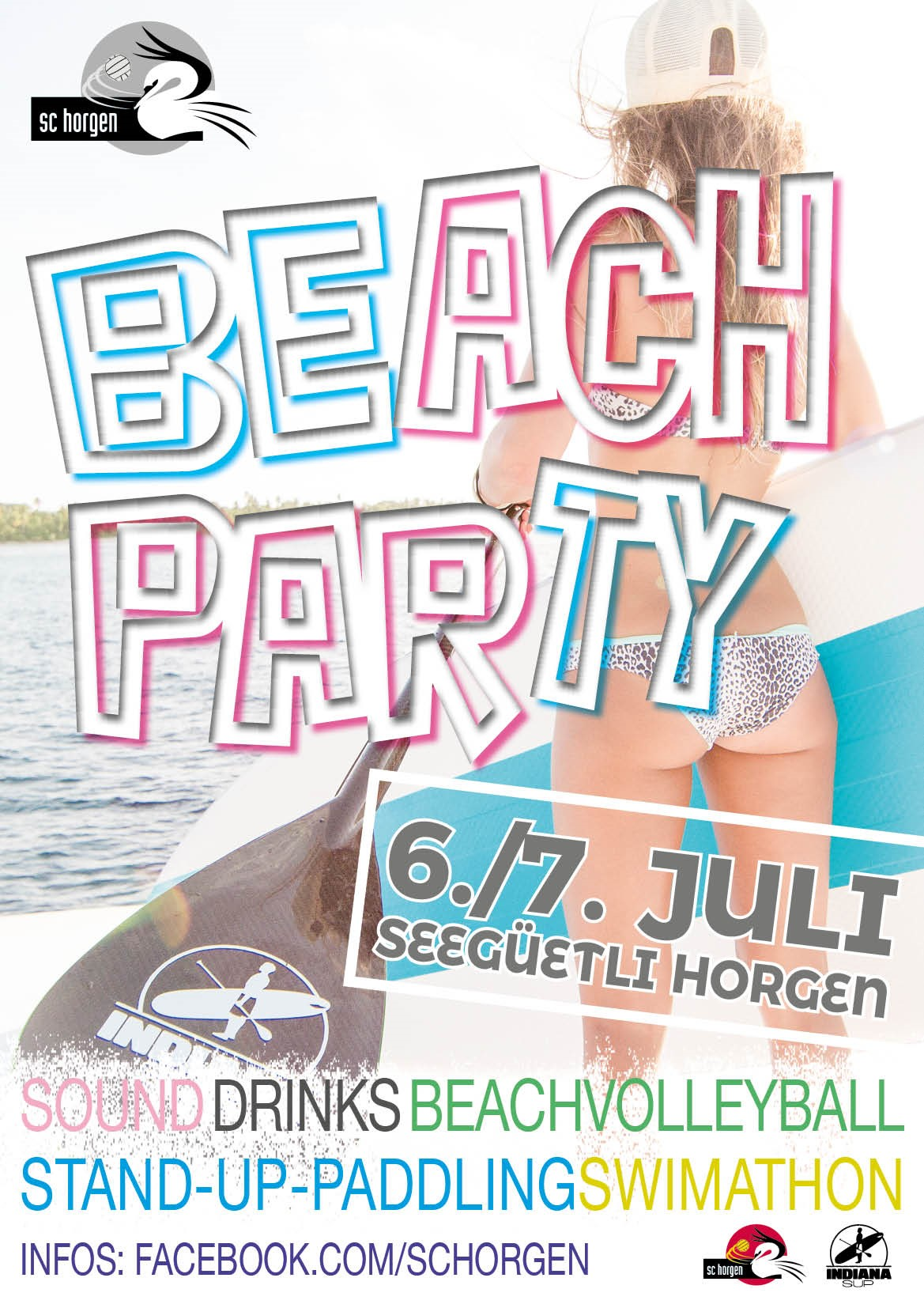 Beachparty plakat 18